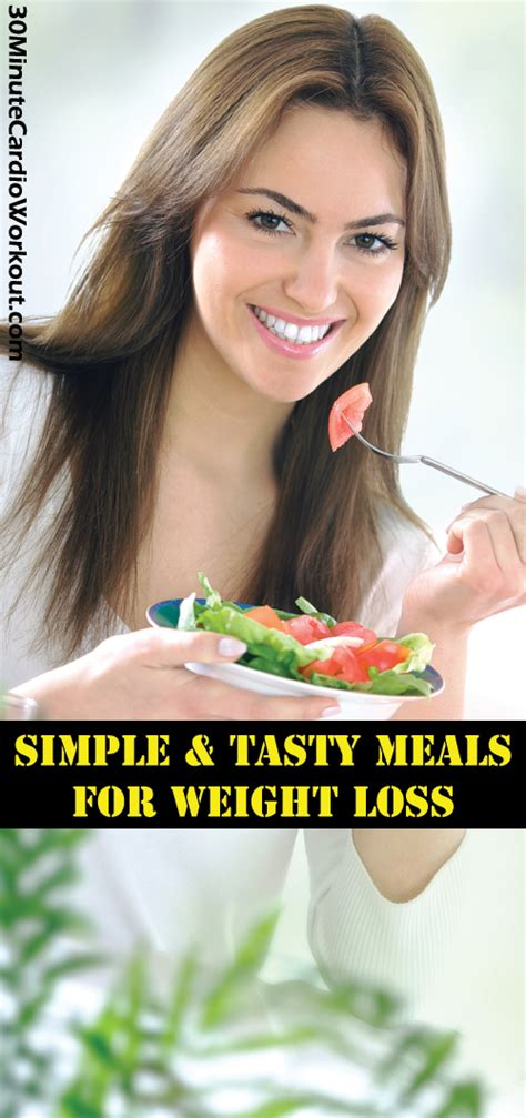5 weight loss meals 5 simple tasty weight loss meals with shopping list