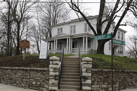 Harriet Beecher Stowe House Uptown Cincinnati Visual Arts Culture Architecture