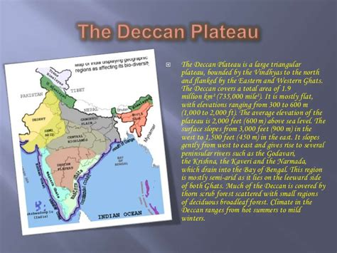 physiographic divisions  india