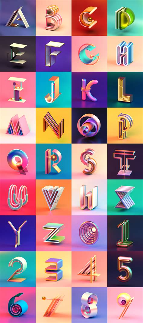 Graphic Design Basics 4th Edition By Arnston 36 days of type set two on behance