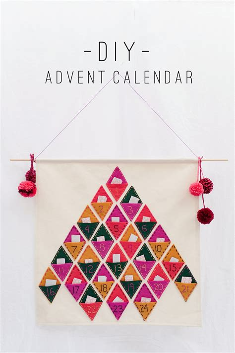 tell diy advent calendar tell love and party