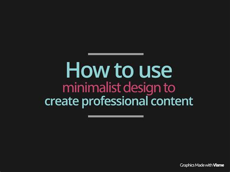 how to design a photo how to use minimalist flat design to create professional