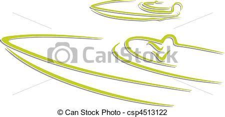 un barco es un automovil ilustraciones de vectores de autom 243 vil barco carreras