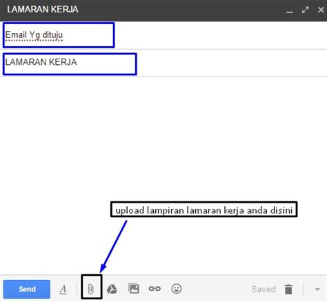 contoh surat lamaran kerja via email yang baik contoh surat