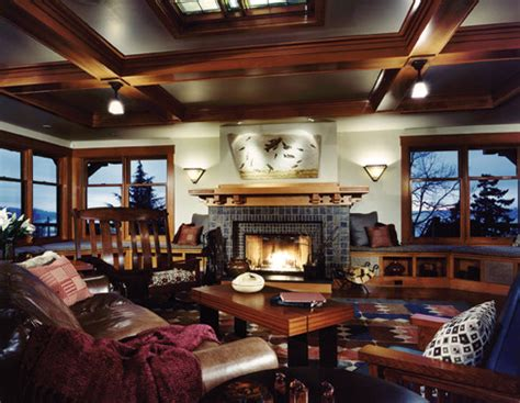 arts and crafts style living room classic arts and crafts style architecture traditional