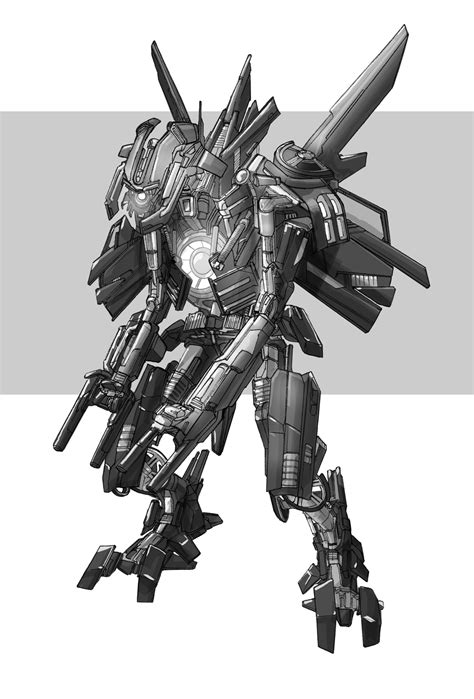 Transformers 2007 Video Game Concept Art - Transformers
