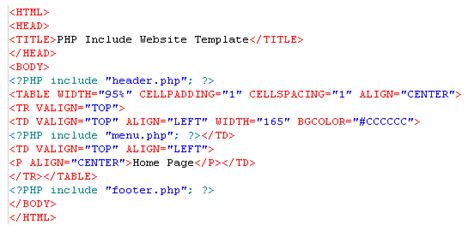 html tutorial how to make a website creating a website using php includes
