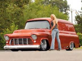 1956 Chevrolet Truck Custom 1956 Chevrolet Ford Panel Trucks Custom Classic