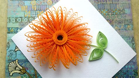 How To Make Paper Quilling Flower - trendy and brilliant 15 floral paper quilling projects
