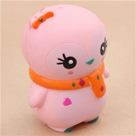 Kawai Pink pink baby winter penguin scented squishy kawaii ksi animal squishies squishies shop modes4u