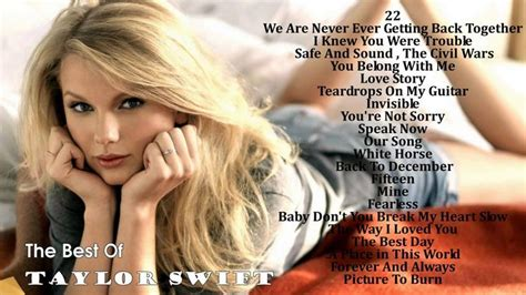 taylor swift greatest hits full album 17 best images about best of on pinterest taylor