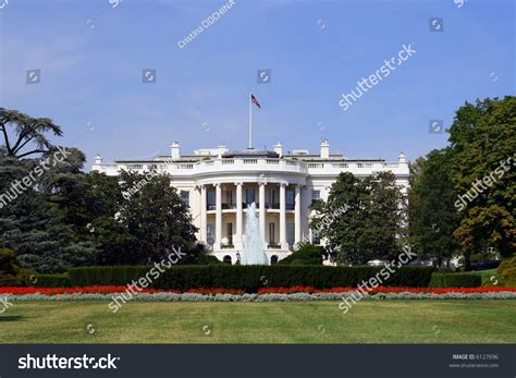 back of the white house white house back view stock photo 6127696 shutterstock