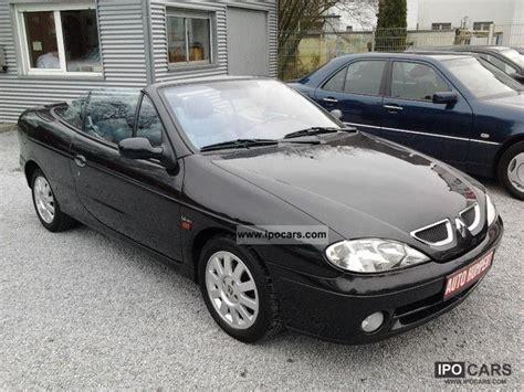 2001 Renault Megane Cabriolet 1 6 Privilege Leather