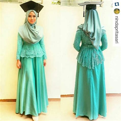Nagita Tosca Dress Wanita model kebaya muslim modern hairstylegalleries