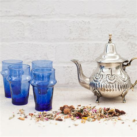 Putting It Together Moroccan by Juniper Celebrations Silver Moroccan Teapot Shop