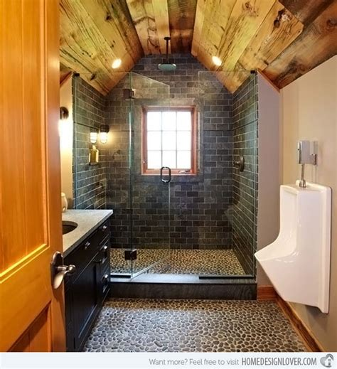 Garage Bathroom Ideas 15 Bathroom Designs Of Rustic Elegance Home Design Lover