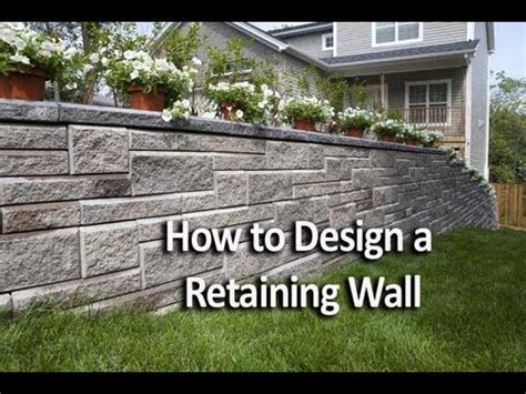 how to build retaining wall on sloped backyard how to build a retaining wall on a sloped backyard yahoo answers