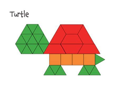 Pattern Block Templates Free Printable by Free Paper Pattern Block Templates Printable Pattern