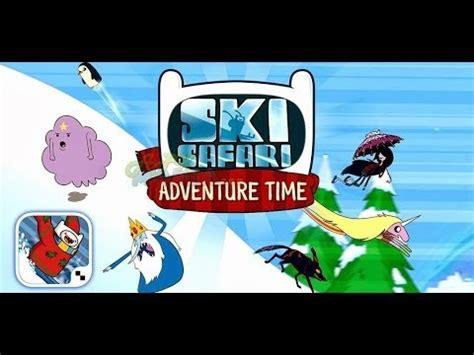 adventure time apk ski safari adventure time android apk mod