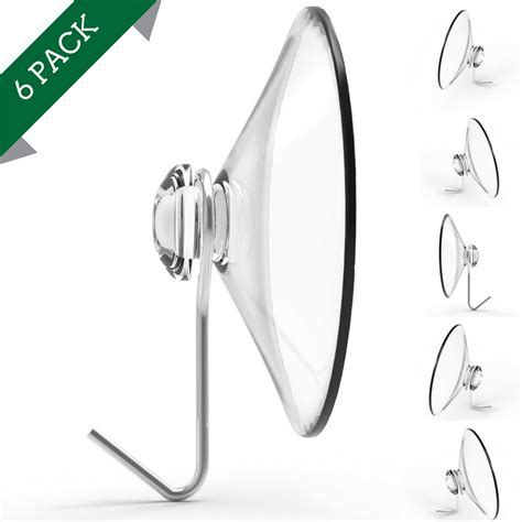 best suction cup hooks for window wreaths strong reliable suction hook large cups 3 quot 2 pack heavy duty hangers