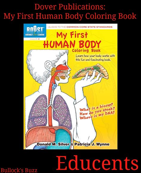 my first human body dover publications educational resources a review of two