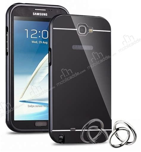 Mirror Galaxy Note 2 eiroo mirror samsung n7100 galaxy note 2 metal kenarl箟