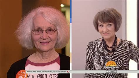 holy cow man vows more romance after wifes makeover kathie how old is the guy on ambush makeover 75 year old looks