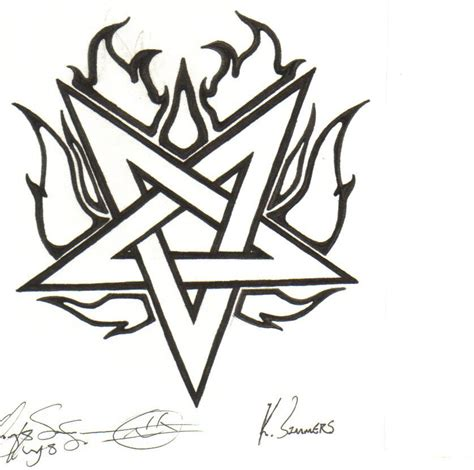 pentagram tattoo design pentagram by randomwhiteguy on deviantart
