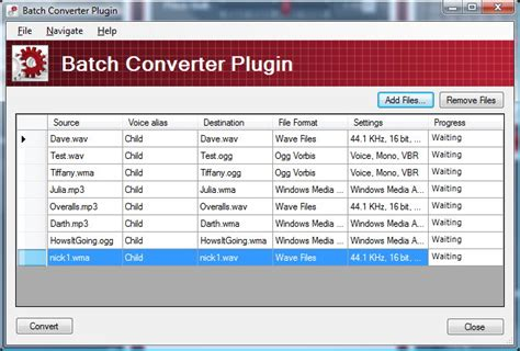 batch conversion icon morph multiple files in single step batch converter plug