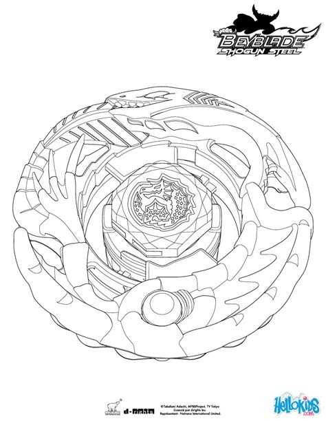 beyblade coloring pages games leviathan coloring pages hellokids com