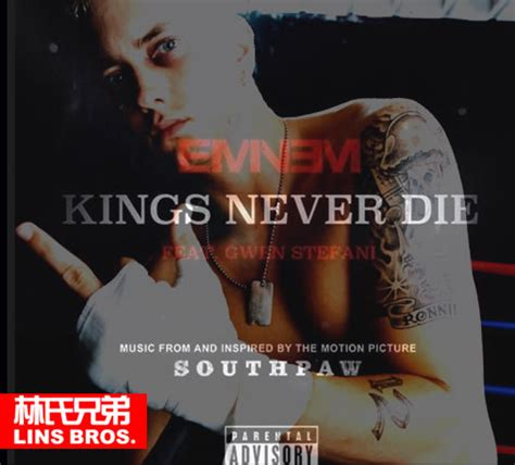 eminem kings never die lyrics eminem kings never die 新歌歌词 lyrics 电影southpaw 左撇子 铁拳原声带