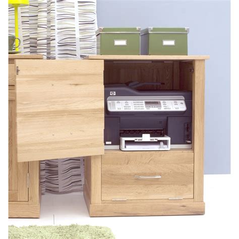 Printer Storage Cabinet Mobel Printer Computer Storage Cabinet Cupboard Solid Oak Office Furniture Ebay