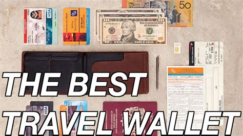 best travel wallet the best travel wallet