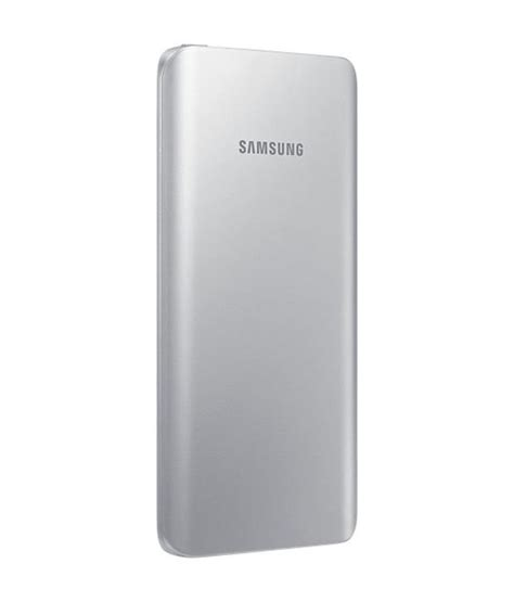 Power Bank Samsung X 818 samsung ebpa500usngin 5200 mah power bank silver power banks at low prices snapdeal