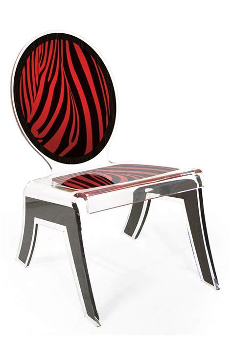 chaise altuglas m 233 daillon forme relax motif tissu z 233 br 233