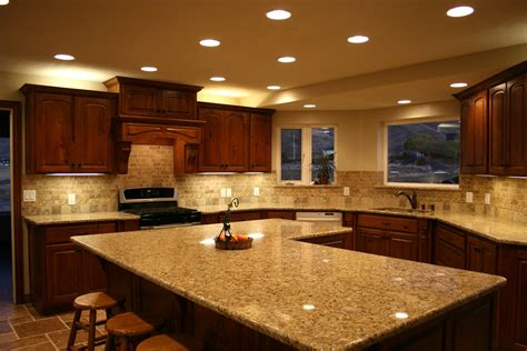 Kitchen Laminate Countertop Materials Options For Kitchen Kitchen Countertop Lighting