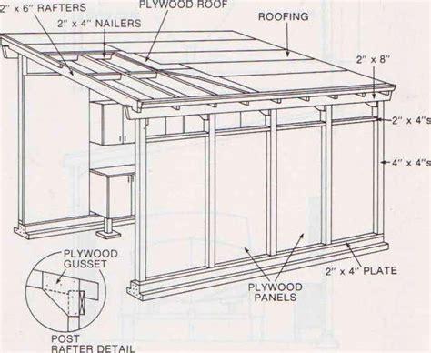 shed roof garage plans shed roof garage plans shed pinterest garage plans