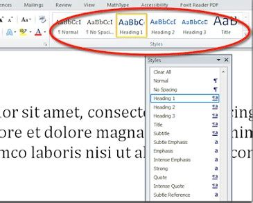 Cara Membuat Jurnal Skripsi Di Ms Word | cara membuat daftar isi otomatis untuk skripsi makalah