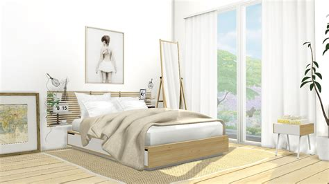 My Sims 4 Blog Ikea Mandal Bedroom Set By Mxims