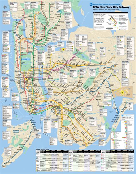 the map of new york city nyc subway images