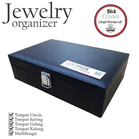 1 Pasang Cincin Kotak Cincin High Quality Kode Cc 0039 exclusive black jewelry box kotak tempat perhiasan