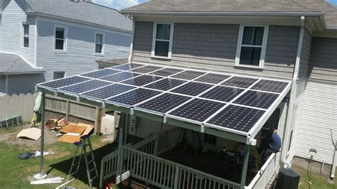solar awnings patio covers installation