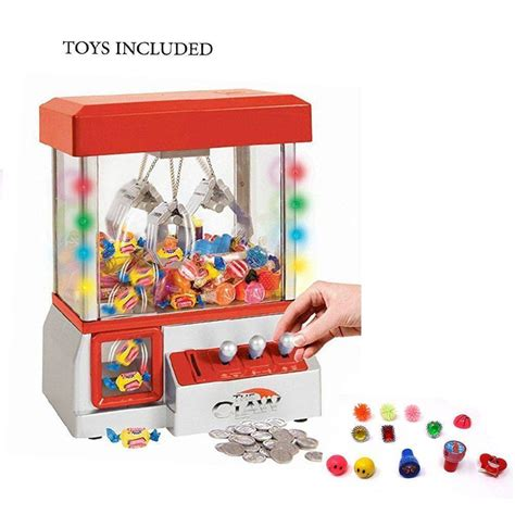 Machine Claw electronic claw machine led lights grabber arcade