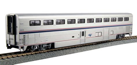 Sleeper Trains Usa by Ho Scale Amtrak Superliner Cars Kato Usa Precision