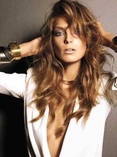 does daria werbowy has long layers in her haircut 50 gorgeous holiday hair ideas from pinterest messy