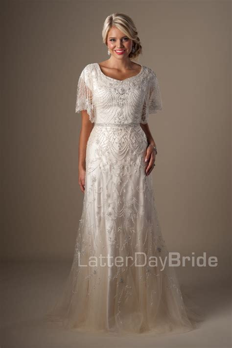 Modest Wedding Dresses : Penelope. Available at Latterday