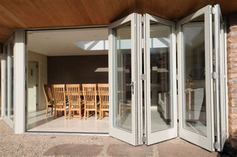 Fold Away Doors Interior Folding Stack Away Doors Starlite Aluminium