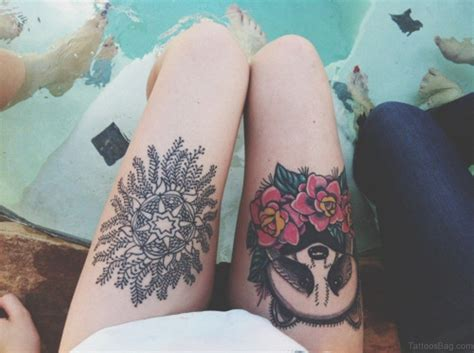 thighs tattoos 74 superb tattoos on thigh