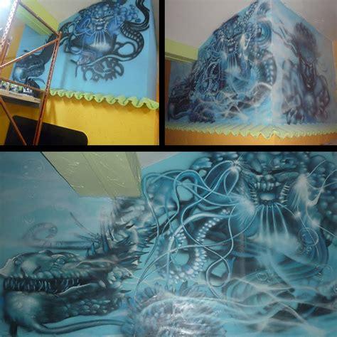 berok graffiti mural profesional en barcelona pintura