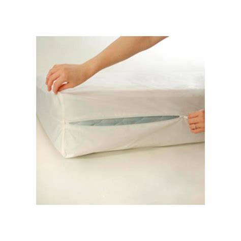 Baby Crib Mattress Cover Crib Size Zippered Mattress Cover Vinyl Toddler Bed Allergy Dust Bug Protector Ebay
